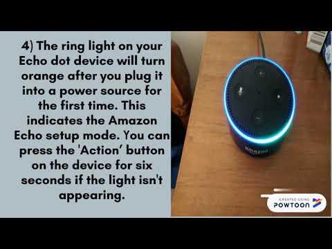 Echo Dot Setup & Alexa Setup
