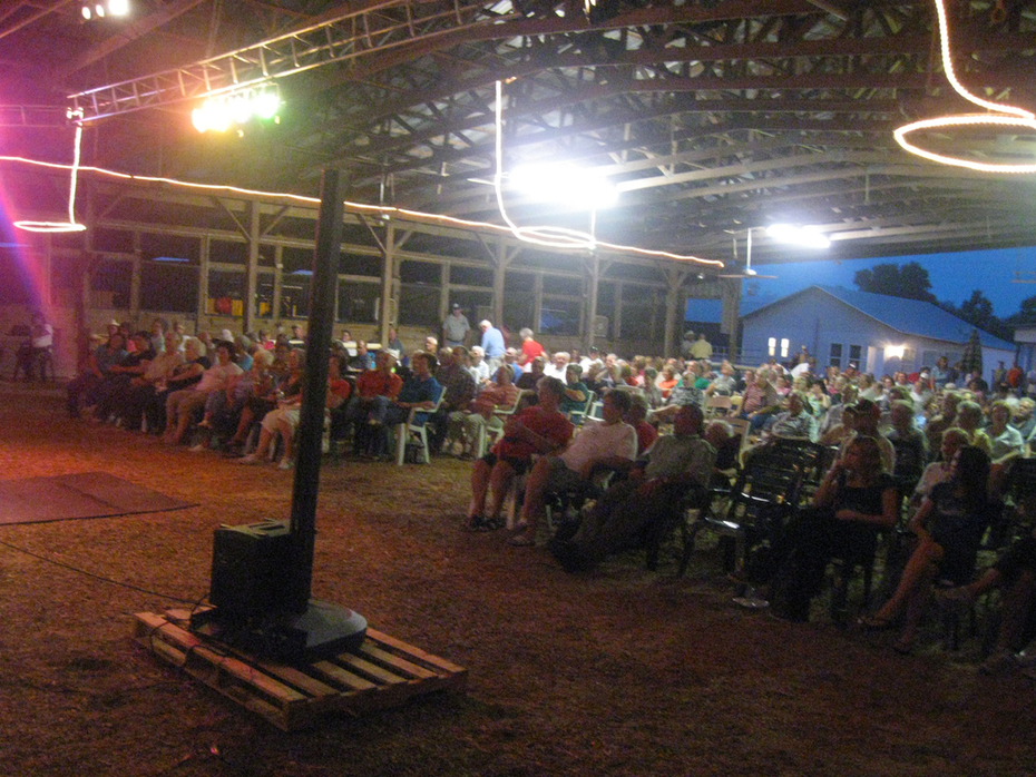 Friday night singing at The Farm