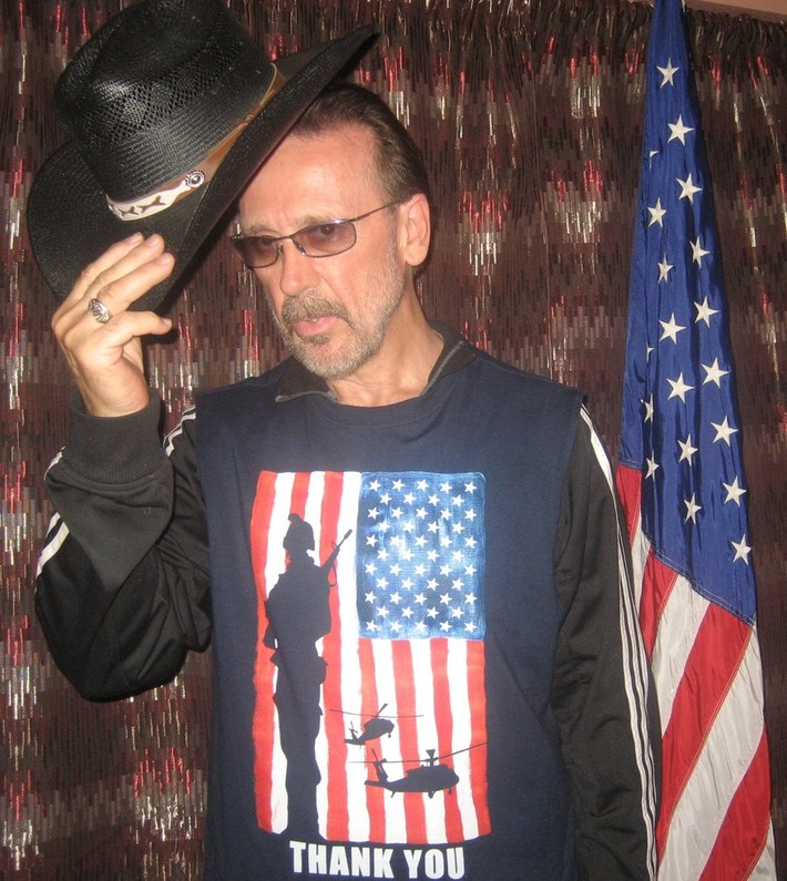 My Hat's Off For Our Troops, God Bless The USA