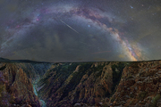 Black Canyon of Gunnison and Perseids
