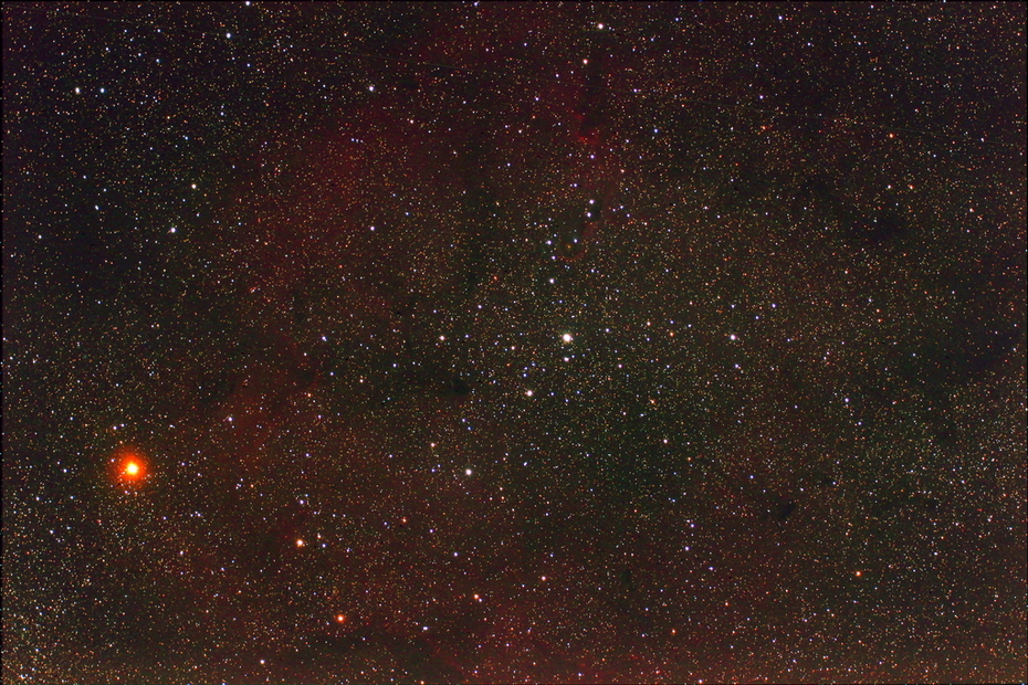 IC1396, VdB-142 and Grenat star in Cepheus