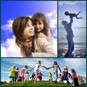 Papás y mamás singles con niños