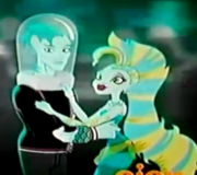 Gill and lagoona together forever , cutest underwater couple