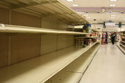 Next time you think your stores are empty visit the UK...