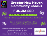 Greater New Haven Community Chorus FUN-Raiser