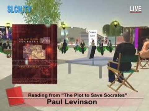 Paul Levinson's The Plot to Save Socrates ... time travel
