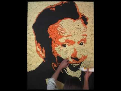 Conan O'Brien: Portrait in Cheetos