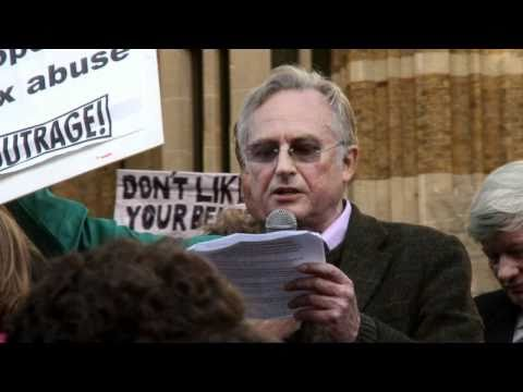Richard Dawkins' Speech at Protest the Pope March