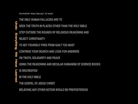 Christianity vs Atheism - This may surprise you, watch it all.