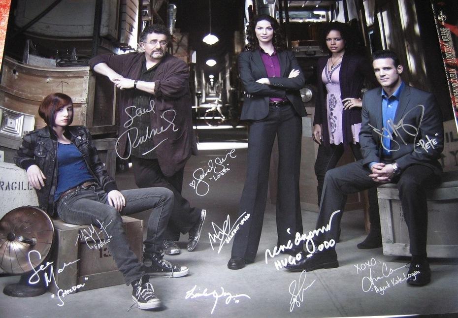 Warehouse 13 24X32 Signed Photo