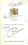 Beatles Autographs Signed Summer 1964 to Summer 1965