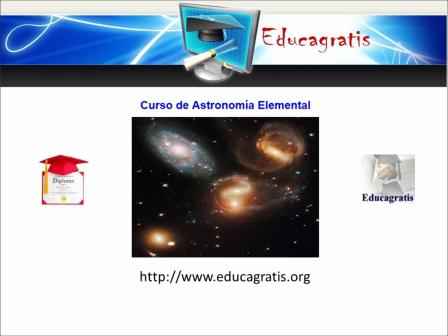 Curso de Astronomía Elemental en Aula Virtual gratis