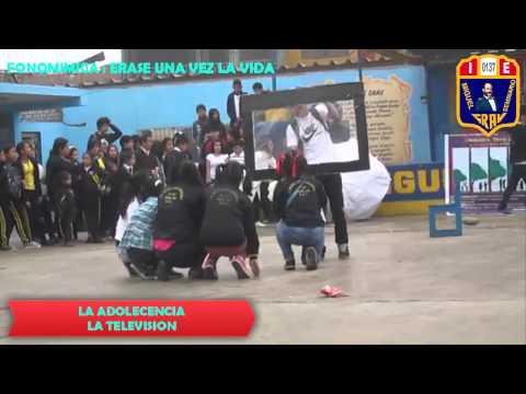 FONOMIMICA:ERASE UNA VEZ LA VIDA-DIA DEL LOGRO-2014-COLEGIO MIGUEL GRAU SEMINARIO Nº137-SJL