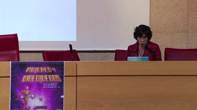 Jornadas Mujeres y Videojuegos.  BEATRIZ MARCANO