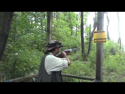 Sport Clay Shooting Highlights with Hiker Lou and friends.
