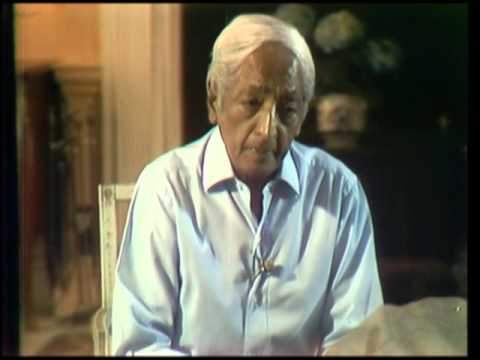 J. Krishnamurti - Brockwood Park 1976 - Discussion 3 - Can I completely change at the very root?