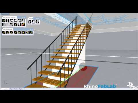 GH-AEC Metric PRO: Stair Components WIP 006