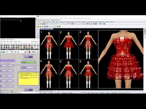 Fashion Design Aid System with Application of Interactive Genetic Algorithms