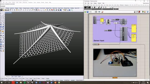 Crow Tutorial1: Neural Sensing and Control in Grasshopper