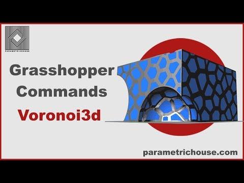 Grasshopper Commands -  Voronoi3d