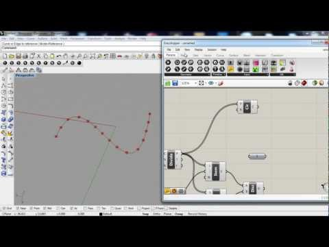 grasshopper 3d - divide curve, equal spacing 2