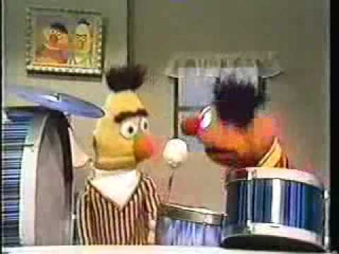 Ernie Teaches Bert How To Play Metal