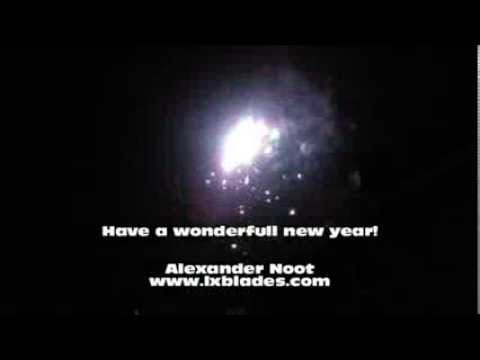 Happy new year from Alexander Noot @ lxblades.com