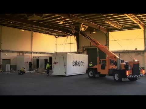 APC and Datapod Containerised Data Centre