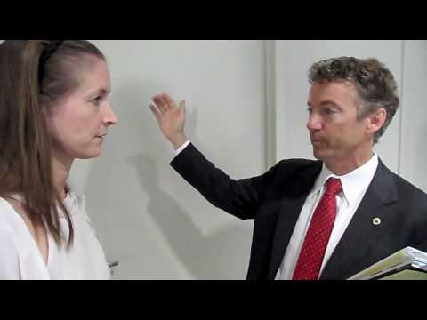 Lisa Miller of Tea Party WDC interviews Dr Rand Paul