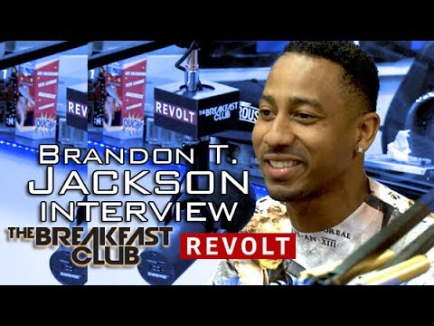 BRANDON T. JACKSON INTERVIEW AT THE BREAKFAST CLUB POWER 105 1