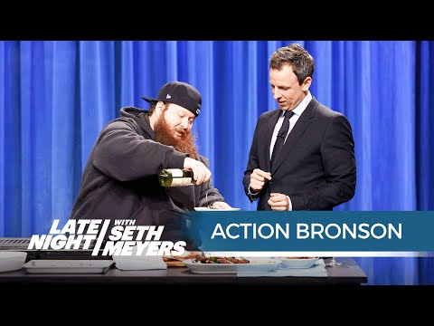Cooking with Action Bronson