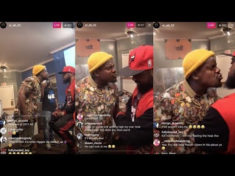 AR-Ab Sets OBH C Dot Up To Get Bodied By General Reezy | Battle Rap Philly Goons