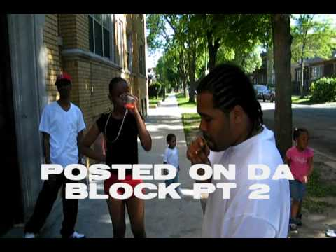 FRANSENO POSTED ON THE BLOCK PT.2 (LIVE FROM DA 9)