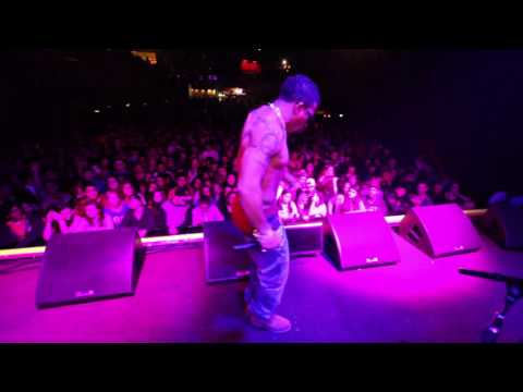 [Video] @ItsVain Opens for Snoop Dogg in Cali