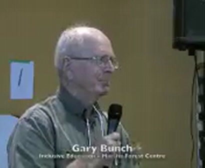 Gary Bunch - Inclusive Education