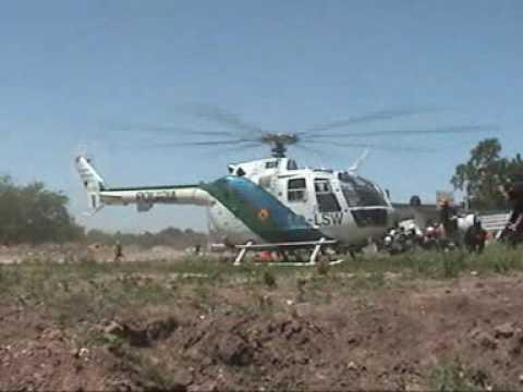 Perros de Busqueda y Rescate - Helicoptero