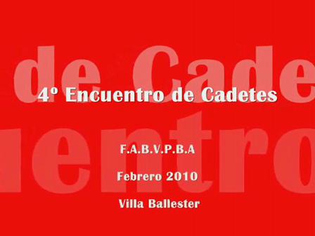 Febrero de 2010 / Villa Ballester, Argentina  / Cadetes