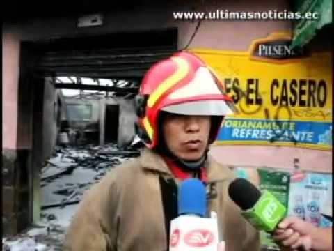 07 de septiembre de 2010 / Incendio en el norte de Quito / Ecuador
