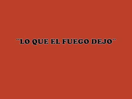 """""""Lo que dejo el fuego"""" / Incendio Forestal de """"Lo Hoyo"""" / Argentina / Video Destacado de La Hermandad de Bomberos"""