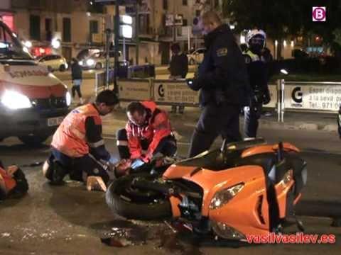 30 de Marzo de 2011 / Atención Prehospitalaria / Accidente de Motos / Palma de Mallorca, España