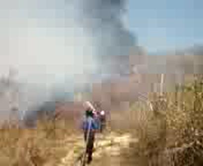 incendio de pastizal 09-04-2011