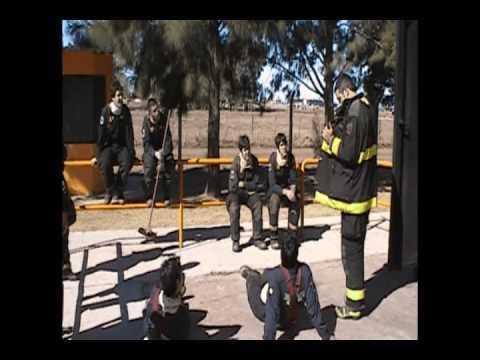 Simulador Flashover CEBE Bomberos Voluntarios Rio Tercero 2009