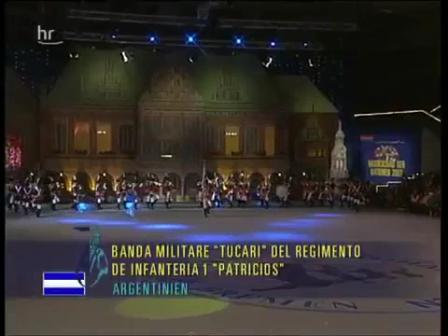 No Todo es Bomberos: Banda Regimiento Patricios nº 1 / Orden Cerrado / Regimiento del Ejercito Argentino