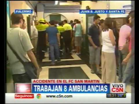 C5N - SOCIEDAD: ACCIDENTE EN EL FFCC SAN MARTIN