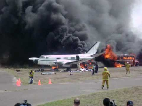 simulacro accidente aereo CBA 18-10-07
