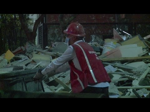 EXPLOSIÓN EN EL EDIFICIO DE PEMEX: LAS TAREAS DE RESCATE