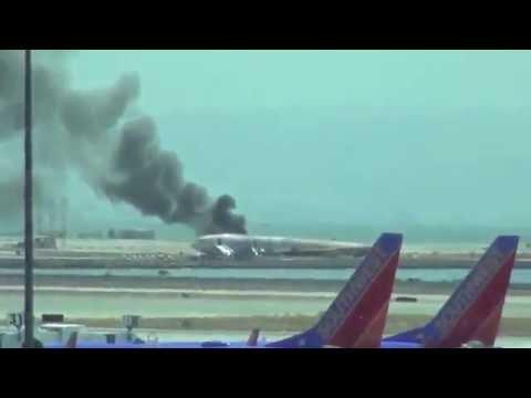 Asiana Airlines Boeing 777 se estrella en el aeropuerto de San Francisco