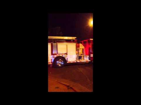 Catástrofe en Valparaíso - Llegada de Bomberos RM (10 carros) - Chile