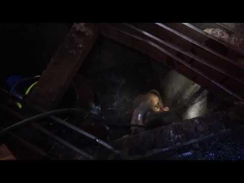 RESCATE DE HOMBRE EN ALCANTARILLADO DE LA CIUDAD EL HOMBRE ESCAPABA DE LA POLICIA (06 DE NOVIEMBRE DE 2013) - BOMBEROS MUNICIPALES DE CARONI, VENEZUELA