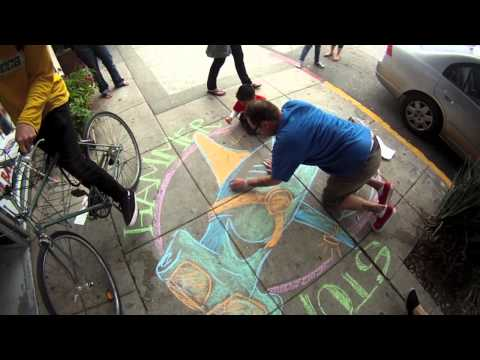 Echo Park PDA Chalk Walk 2011